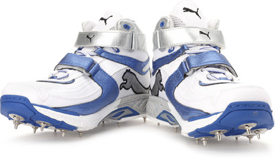 Puma Iridium II Full Spike Mid Cricket Shoes at 3639 on Flipkart